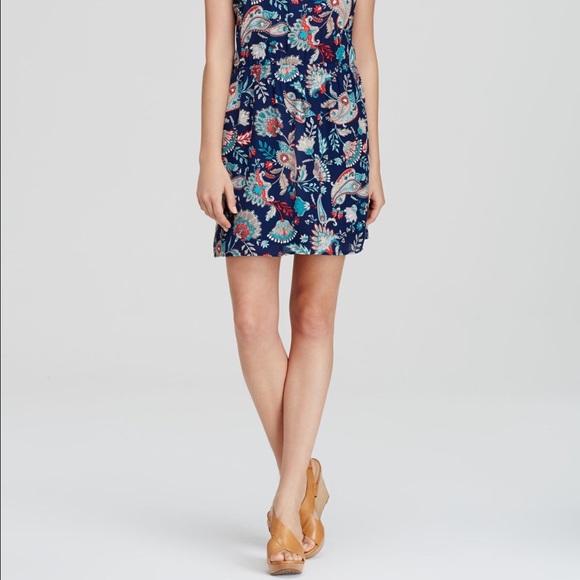 Aqua Dresses - Aqua Paisley Dress