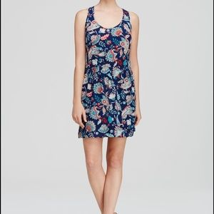 Aqua Paisley Dress