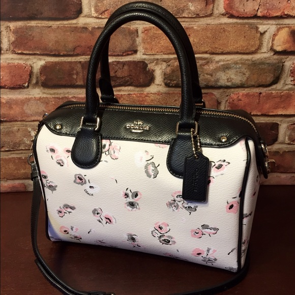 c1393107f7 SALE 🌷 Coach Wildflower Mini Bennett Satchel Bag