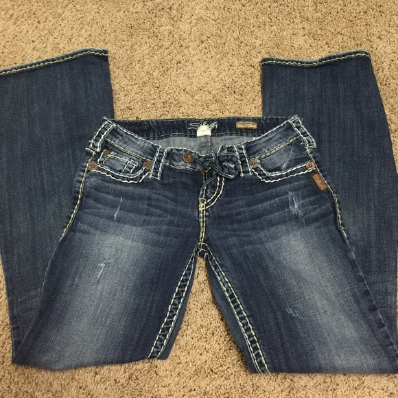 65% off Silver Jeans Denim - EUC Silver Tuesday Flare from Kirby's ...