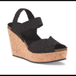 Adam Tucker Shoes - Cork wedge