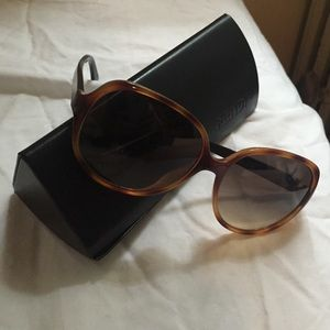Used Fendi sunglasses with case