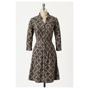 Anthropologie Wightwick Manor Dress