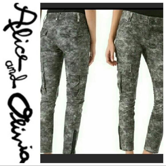 05da09f2a3da1 Alice + Olivia Jeans | Aliceolivia Cargo Pants | Poshmark