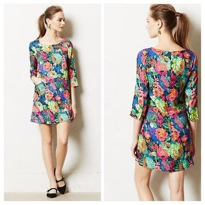 Anthropologie Tropicalist Shift Dress