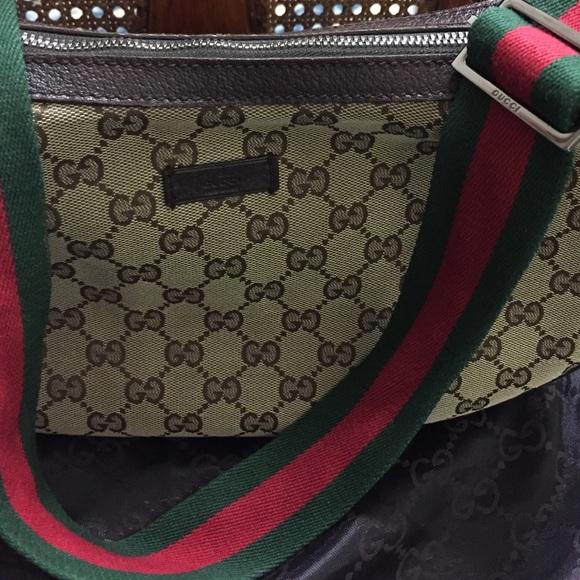 e29608a1710b Gucci Handbags - Gucci GG canvas shoulder cross body #122790