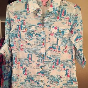 NWOT Lilly Pulitzer Cruiser Top-2