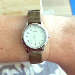 Timex Accessories - Timex watch with green strap