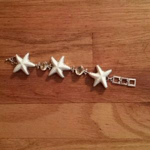 Jewelry - Sterling silver and Gem Stone Starfish Bracelet