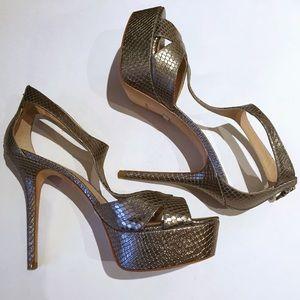 Pour la Victoire Shoes - Pour La Victoire 'Illena' Snake Embossed Platform