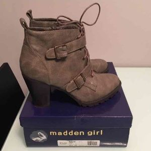 FINAL PRICE‼️ Madden Girl Combat Booties