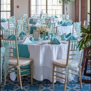 Gorgeous Tiffany Blue & Silver wedding decorations