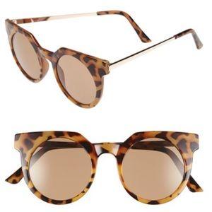❤️BOGO❤️New Tortoise Round Sunglasses