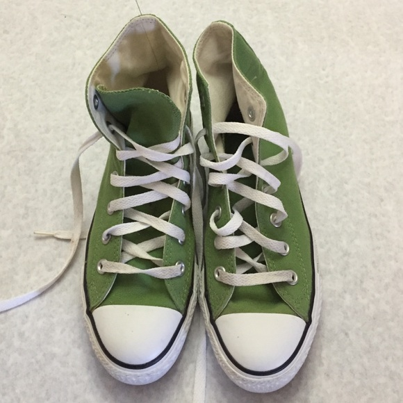 converse women green high top