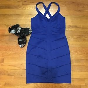 Dresses & Skirts - Royal Blue Mini Dress