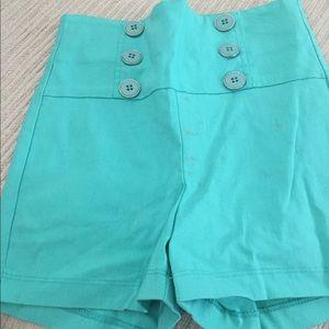 Pants - High waisted short