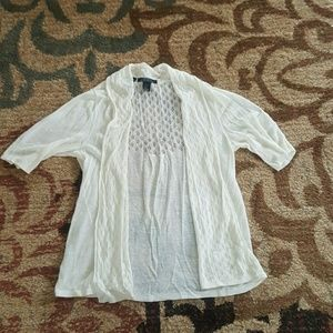 Cynthia Rowley cardigan size S EUC