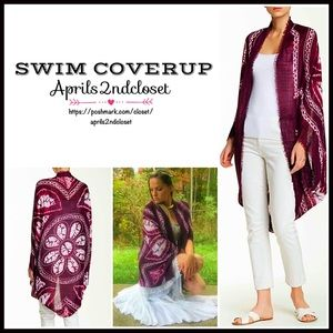 Boutique Other - KIMONO COVERUP Cocoon Cardigan