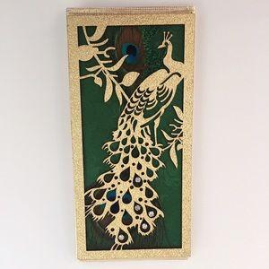 Peacock Money Holder Clutch