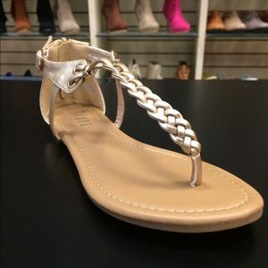 ☀️Gold Braided Flat Sandals☀️