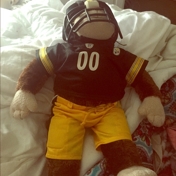 fb657e6cd26 Build-A-Bear Other - Steelers monkey build-a-bear