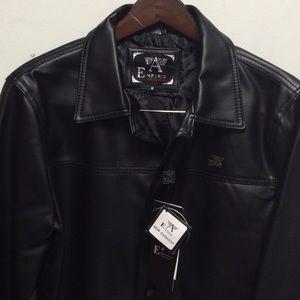 Jackets & Blazers - Emporio collezione 100% leather jacket