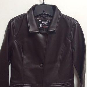 Jackets & Blazers - New Emporio Collezione leather jacket. Women's