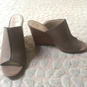 14th & Union Shoes - Leather wedges--brand new!