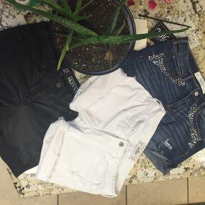 Pants - 3 pair summer cut offs