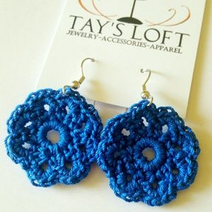 Festival Ready BOHO Crochet Earrings