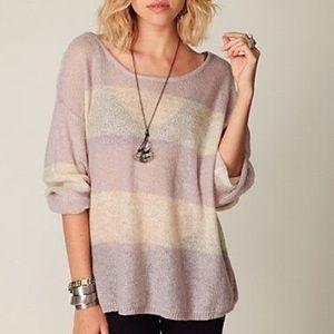 Free People Stripe Sweater
