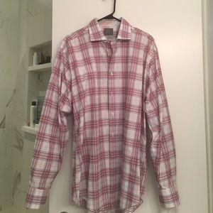 Thomas Dean Other - Thomas dean plaid dress shirt.