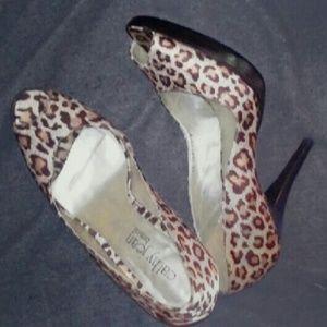 Leopard cathy jean brazil pumps