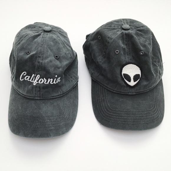 brandy accessories alien baseball cap hat melville patch