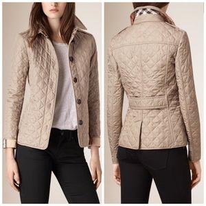16% off Burberry Jackets & Blazers - ❌SOLD❌ NWT Burberry Brit ... : diamond quilted jacket burberry - Adamdwight.com