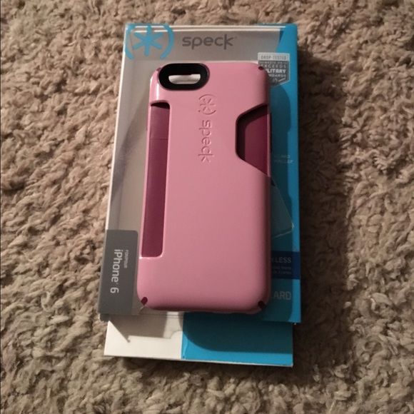 brand new 8abfb a141a Speck iPhone 6/6S card holder case
