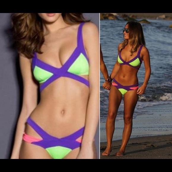 Agent Mazzy Provocateur BikiniAuthentic Agent BikiniAuthentic Neon Provocateur Mazzy Agent Provocateur Neon YvIb7yf6gm