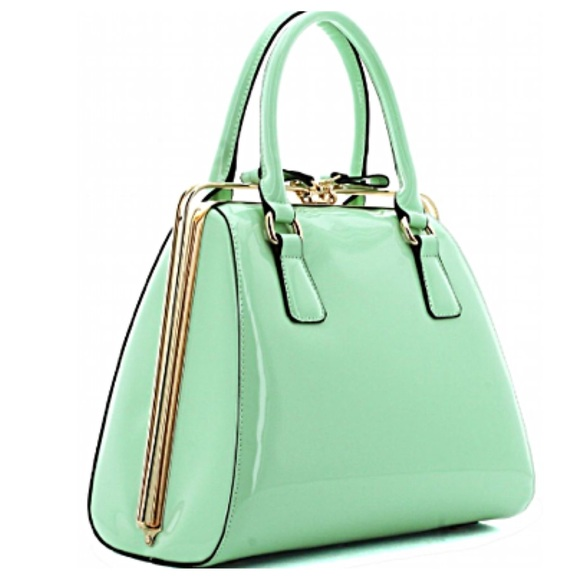 76% off H&M Handbags - *LOWEST* Mint Green Handbag from Tori's ...