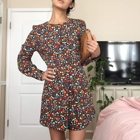 384a615a Zara Dresses | The Trafaluc Collection Floral Romper Nwt | Poshmark