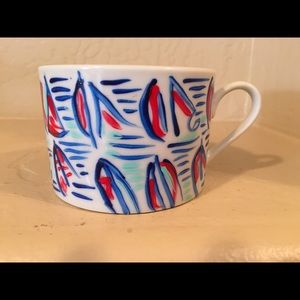 Lilly Pulitzer Other - Hand Painted Coffee Cup