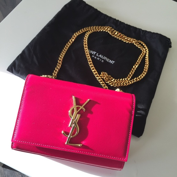 Yves Saint Laurent Bags Ysl Hot Pink Bag Poshmark