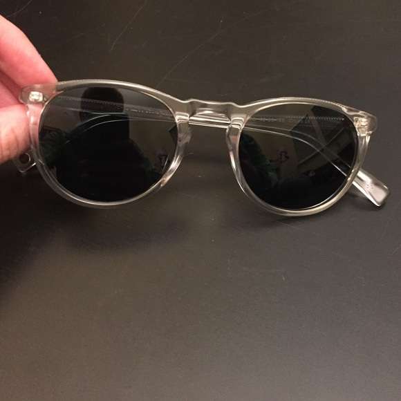 60749aa43e Warby Parker Sunglasses Haskell Crystal. M 57219e8f713fde071c00f5a0