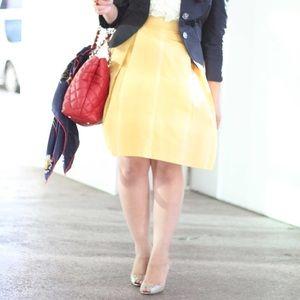 Banana Republic Dresses & Skirts - Banana Republic Yellow A-Line Skirt