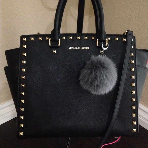 4b8c8224e478 ... THIS ITEM IS SOLD! Michael Kors Studded Selma Large Saffiano Satchel.  M_5721ab407fab3aee7d0109bd. Other Bags you may like