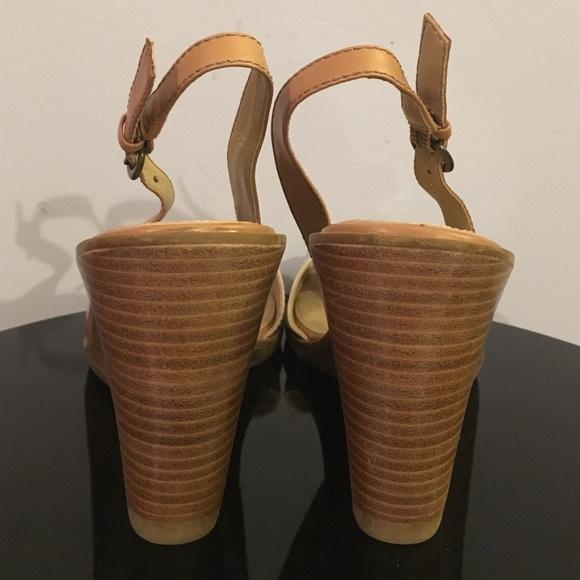 73 Off B Makowsky Shoes B Makowsky Tan Leather Buckle