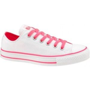 Converse Shoes - Neon Pink And White All Star Converse e8c8ea940