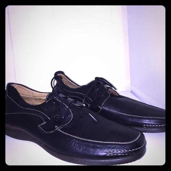 e4c8fd59b24b1 Mens Gold Lion Leather Shoes
