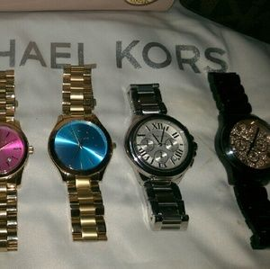 586aeb0defed Michael Kors Accessories - Just showing! My collection of MK watches