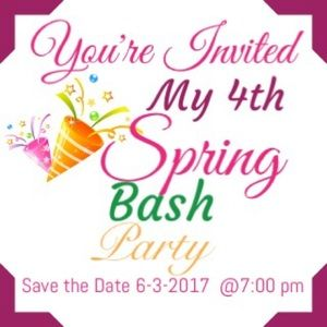Tops - It's Party Time 🎉Save The Date 6.3.2017 @7:00 pm