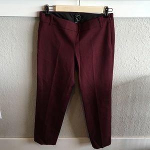 Jcrew city fit ankle trouser